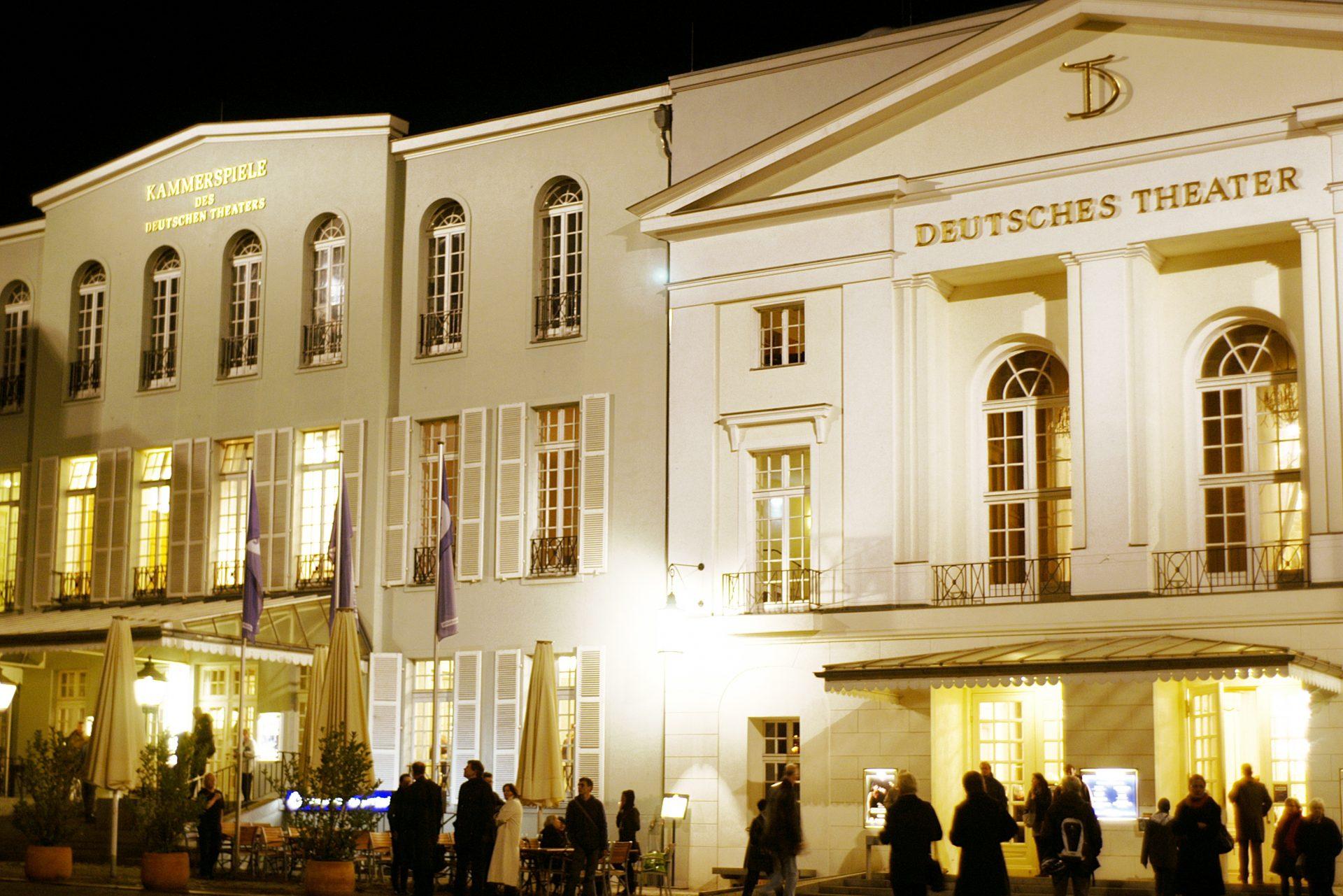 Deutsches Theater Und Kammerspiele City Map And Guide Berlin Potsdam