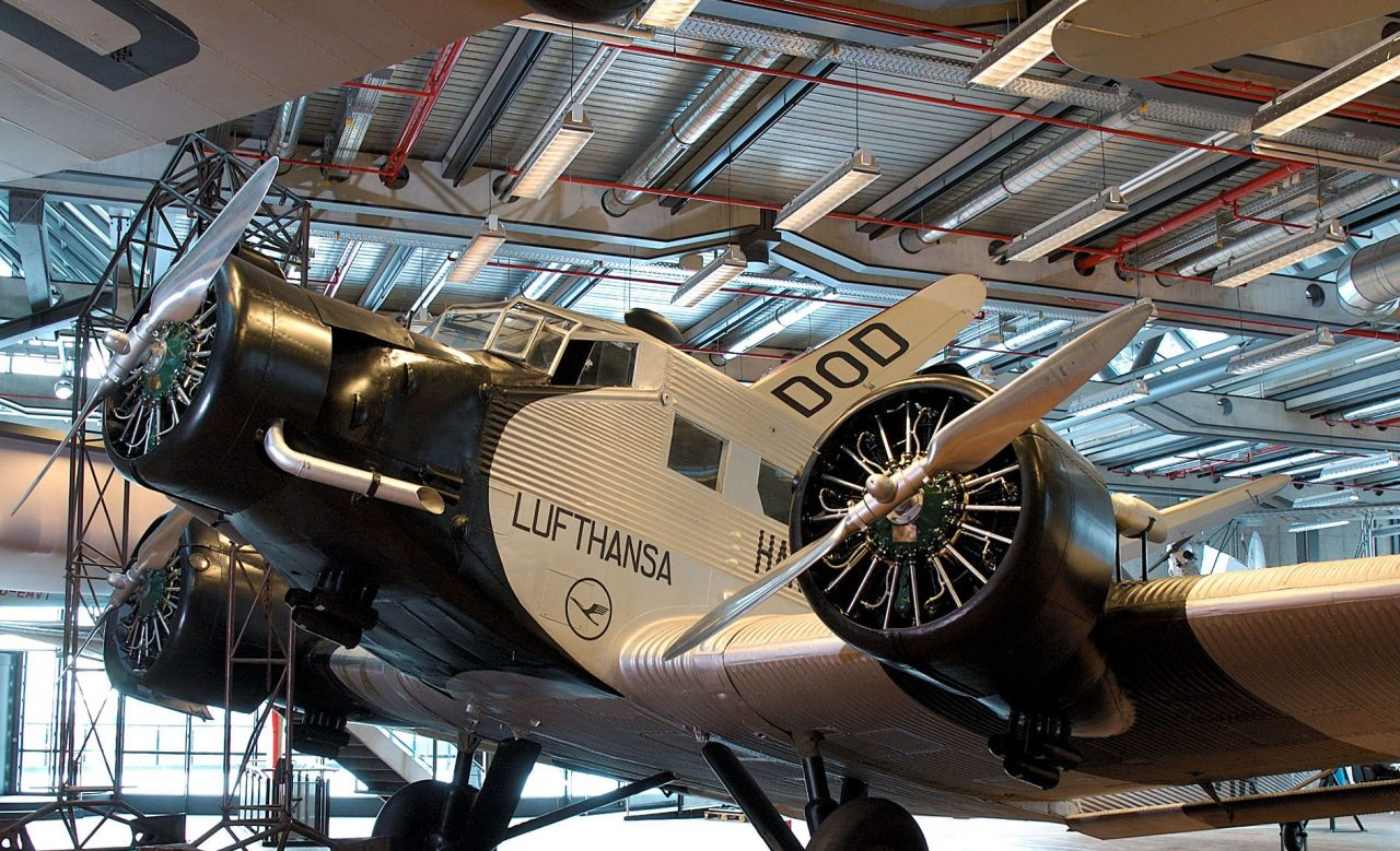Deutsches Technikmuseum in Berlin, Passagierflugzeug Ju 52