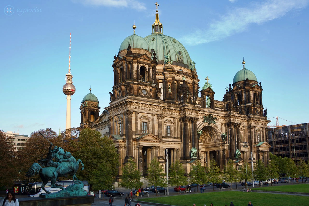 Berliner Dom City Map And Guide Berlin Potsdam
