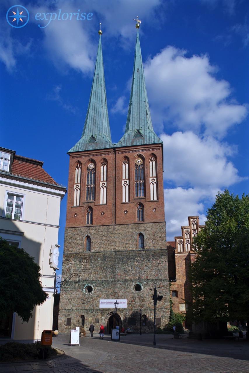 Nikolaikirche, Nikolaiviertel Berlin. Foto © Grebennikov Verlag