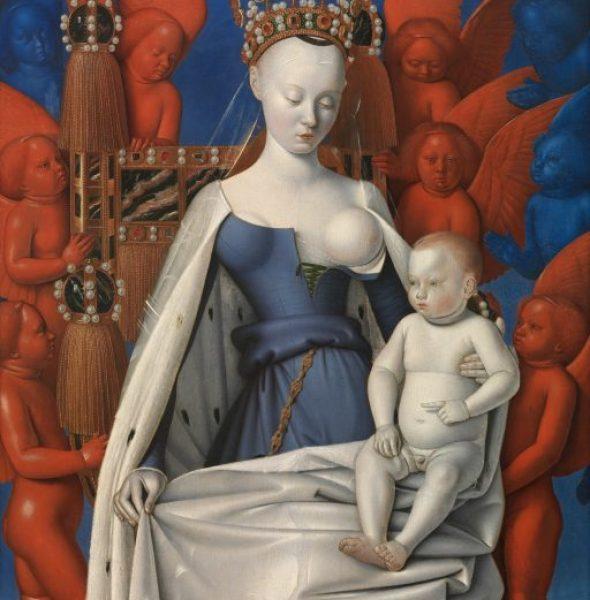 Jean Fouquet. Das Diptychon von Melun